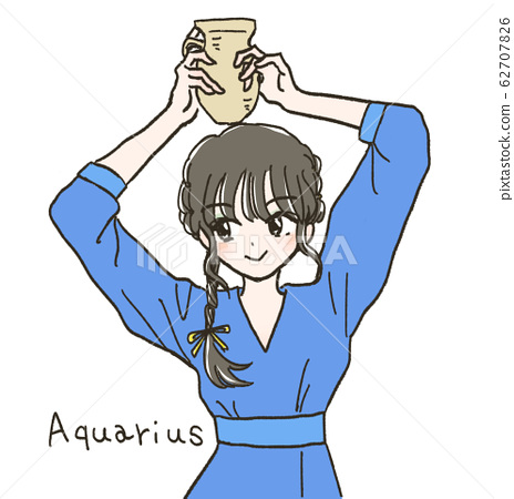 Aquarius girl 62707826