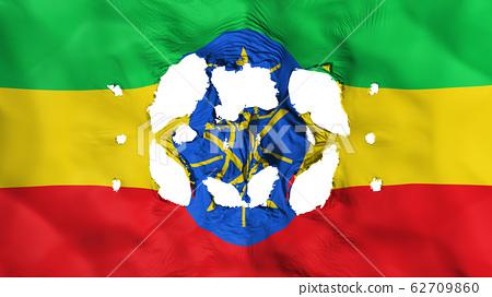 Holes in Ethiopia flag 62709860