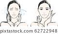 女人流鼻涕之前和之后 62722948