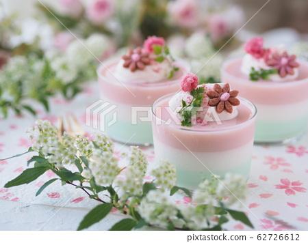 春季甜點櫻花3色果凍 62726612