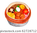Kettle rice (watercolor painting) 62728712
