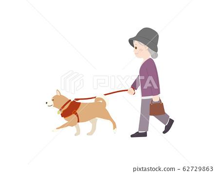 狗walking 62729863