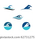 Set Swimming  icon Vector Illustration design Logo 62731275