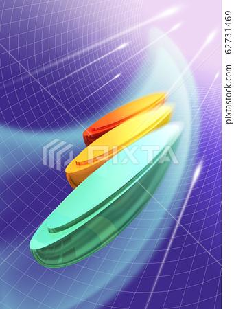 3 colours 일러스트 62731469