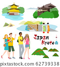 Foreign tourists visiting Kyoto 62739338