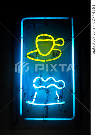 Cafe neon 62744361