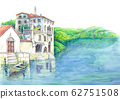Lake and buildings 62751508