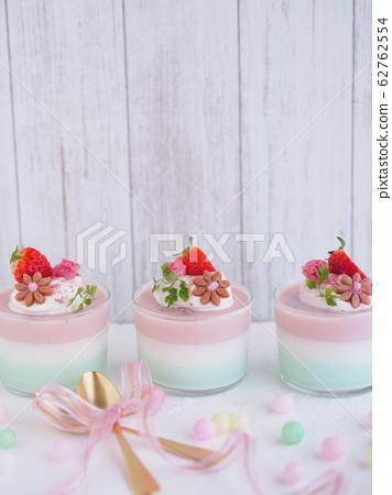 春季甜點櫻花3色果凍 62762554
