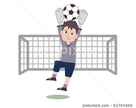 축구 골키퍼 62764866