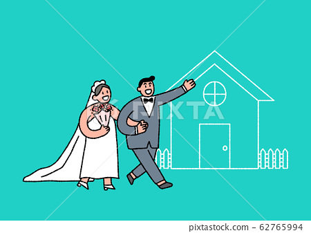 Social security in flat design, welfare benefits symbols illustration 015 62765994