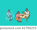 Social security in flat design, welfare benefits symbols illustration 002 62766255
