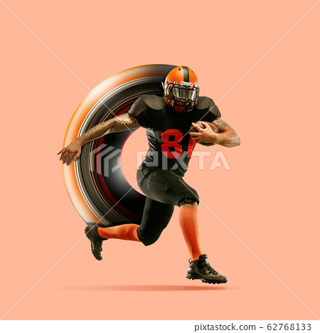 Abstract desing, concept of sport, action, motion in sport 62768133