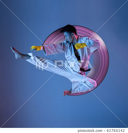 Abstract desing, concept of sport, action, motion in sport 62768142