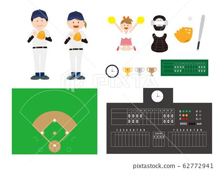 棒球套裝 62772941
