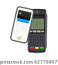 Contactless Payment Methods Mobile smart phone and 62776807