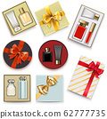 Vector Gift Boxes with Perfumery 62777735