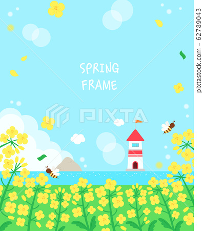 暖春花卉風景架5 62789043