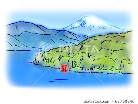 Lake Ashinoko 62790846