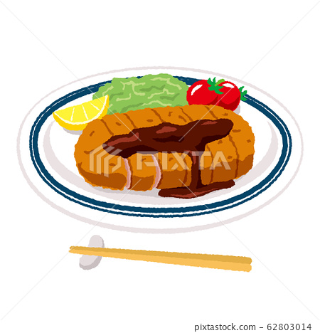 Illustration of tonkatsu 62803014