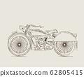 Vintage Motorcycle 62805415