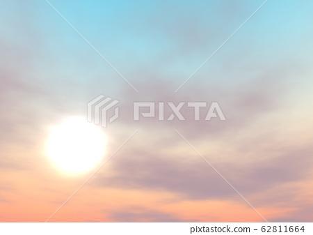 하늘 태양 조양 새벽 62811664