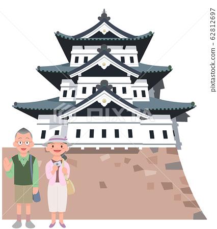 弘前城和年長夫婦旅行 62812697