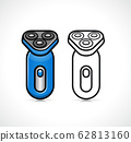 Vector shaver design symbol icon 62813160