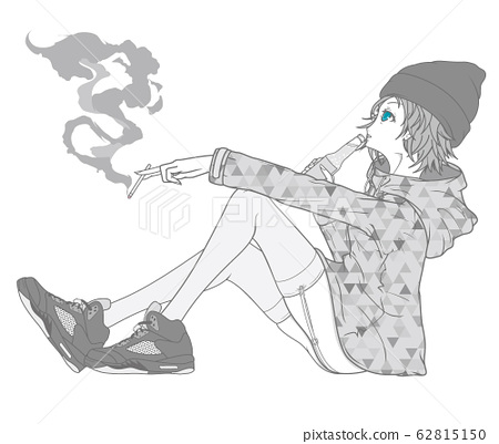 Girl (Mountain Parker Seamless Pattern) 62815150