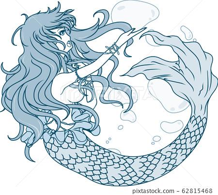 Mermaid 62815468