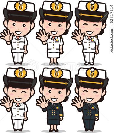 迷你-迷你海上自衛隊W10 62817114
