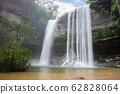 Waterfall beautiful in wild nature 62828064