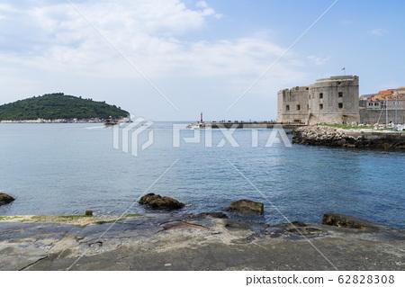 遊船碼頭,堡壘,城牆,杜布羅夫尼克,克羅地亞 62828308