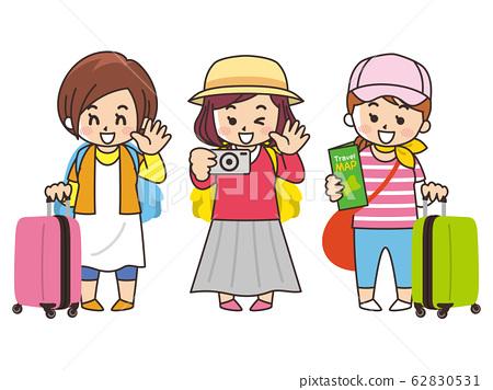 參加女性旅行的女孩Travel Travel 62830531