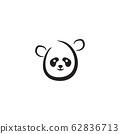 Panda icon logo design vector template 62836713