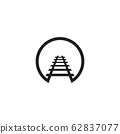 Train icon logo design vector template 62837077