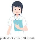 護士醫務人員病歷白大衣 62838044