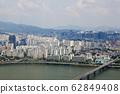 강변북로,한강,마포구,서울,한국,아시아 62849408