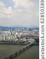 강변북로,한강,원효대교,용산구,서울,한국,아시아 62850389