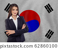 Young woman ready for business or learn language 62860100