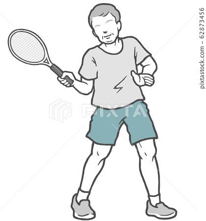 網球中年男子男子 62873456
