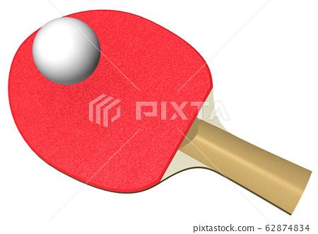 乒乓球 62874834