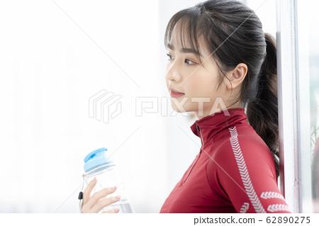 Sport girl 62890275