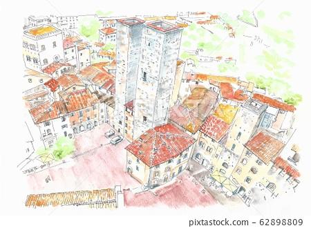 세계 유산의 거리 · 이탈리아 · 산지미아노 62898809