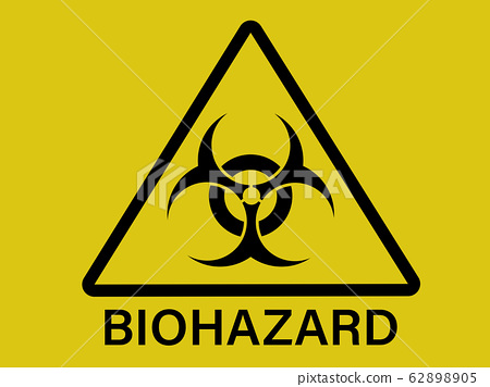 Biohazard dangerous sign 62898905