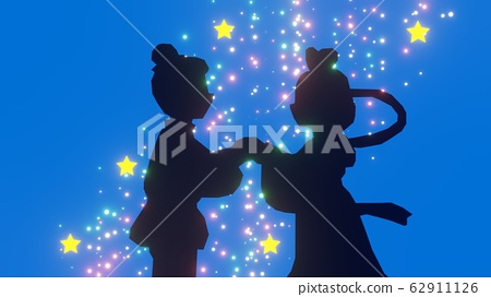 Orihime和Hikoboshi每年相愛一次 62911126