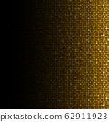 Background made of gold sequins, glitters dots 62911923