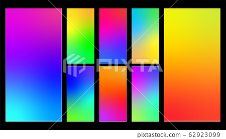 Colorful Gradient Abstract Background for 62923099