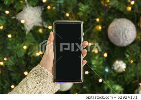 Christmas decoration street scenes in Korea 071 62924131