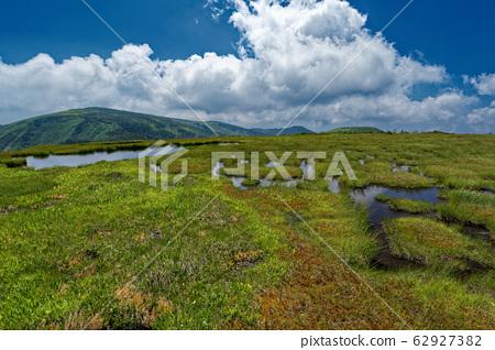 여름 池노岳의 지탕과 平ヶ岳 62927382