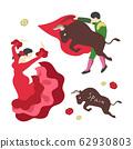 斗牛士和弗拉门戈(西班牙图片) 62930803